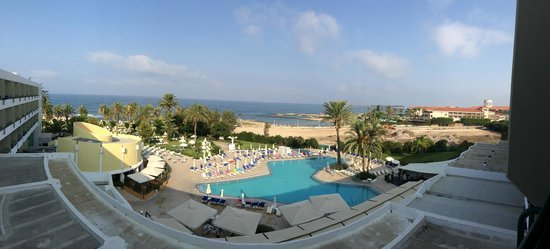 Louis Imperial Beach: panoramic view from our room