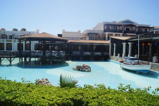 Aldemar Royal Mare Thalasso Resort : Le restaurant gastronomique