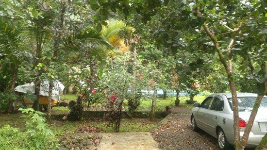 Hotel Lavas del Arenal: Fuera de la habitación