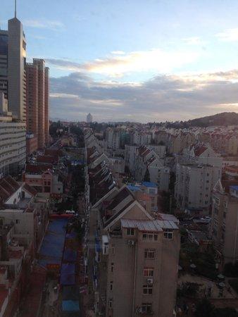 Litian Hotel: 部屋から見た眺め