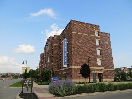 Fairfield Inn & Suites South Bend at Notre Dame: Vue de l'hôtel à l'extérieur