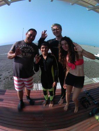 Hilton Dalaman Sarigerme Resort & Spa: SCUBA TEAM!!!