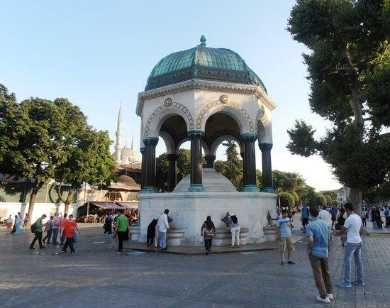 Topkapi Palace: Фонтан Ахмета III