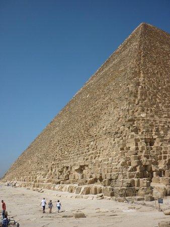 Pyramids of Giza: линии космоса