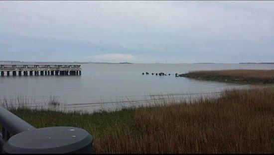 Charleston Waterfront Park: Harbor Area