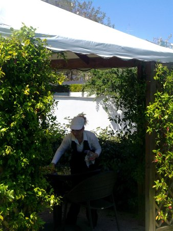 EcoHotel Roma : Jardin