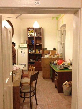 Wild Elephants Hostel: Kitchen