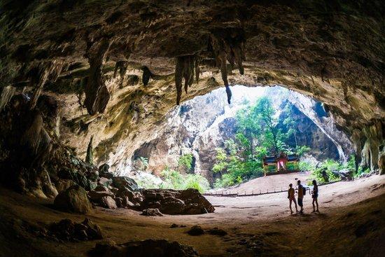 Kui Buri, Tayland: пещера