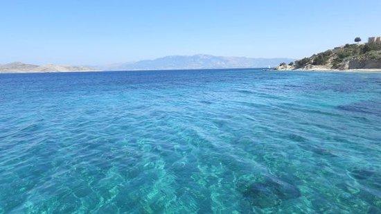 Apollon Hotel : Красивейшее море