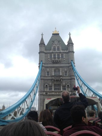 Big Bus Tours - London: Tower Bridge from the Bus.