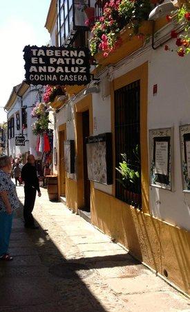 Historic Centre of Cordoba : Calle Velazquez Bosco