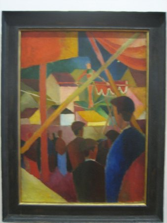 Kunstmuseum Bonn: A typical picture by Macke