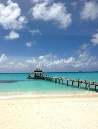 Kuramathi Island Resort: Bar Laguna pavillion