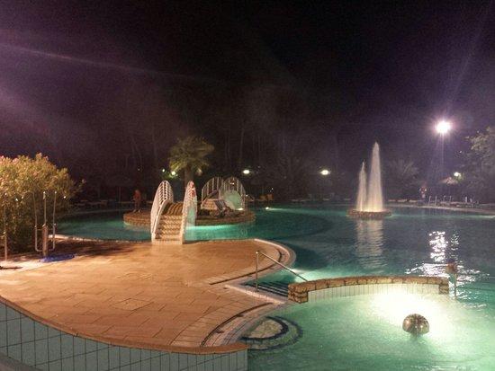 Camping Village Pino Mare : bellissima piscina.. aperta anche la sera