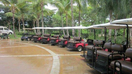 Casa de Campo Resort & Villas: E para você se locomover por todo o condomínio.....