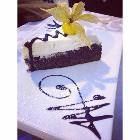 Restaurante Vino Mio: Guiness tart - best cake!