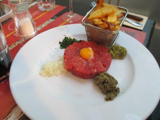Maison du Cassoulet: Steak Tartar