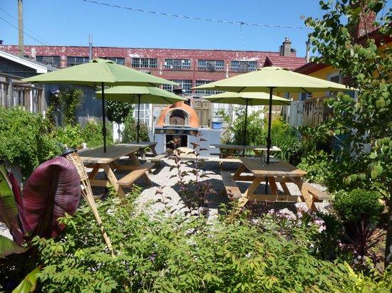 The Purple House Cafe: Terrace