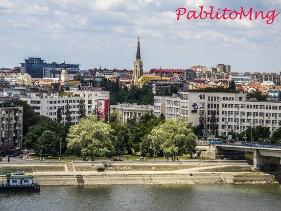 Petrovaradin Fortress: Novi Sad vista dalla fortezza