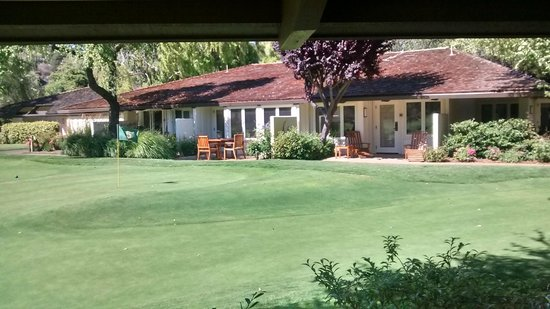 Quail Lodge & Golf Club: The view from our room