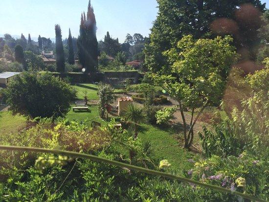 Ape Rosa Relais : Le jardin