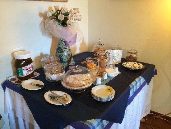 Ape Rosa Relais : Petit déjeuner