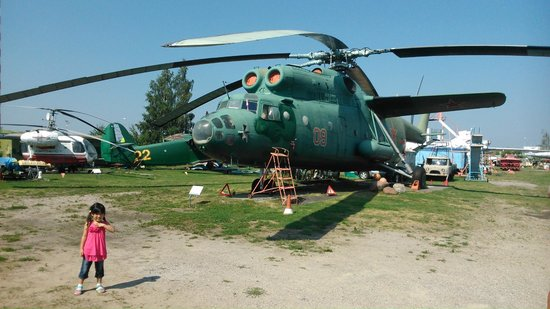 Riga Aviation Museum : huge helicopter