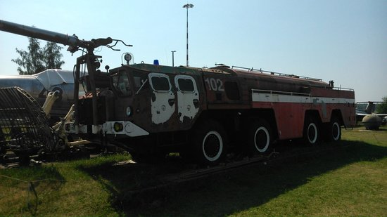 Riga Aviation Museum : Fire truck