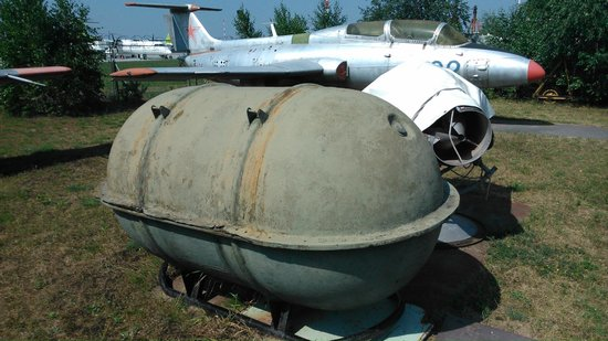 Riga Aviation Museum : I guess a deadly bomb