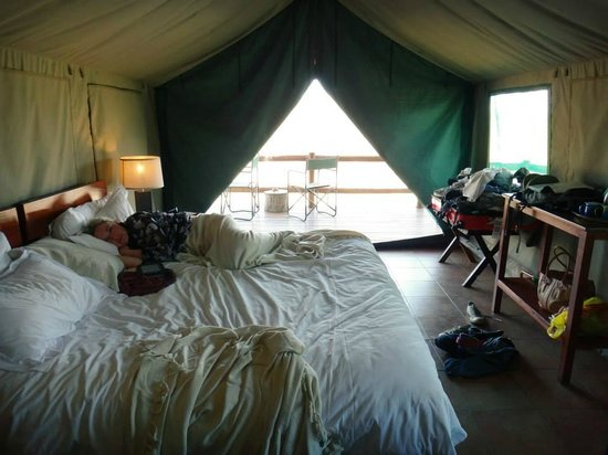 Sausage Tree Safari Camp: Our safari tents