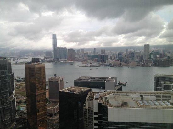 Conrad Hong Kong: view from my room