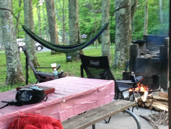 Lewis Mountain Cabins: camp