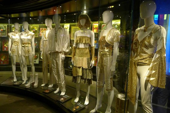 ABBA The Museum: Their costumes