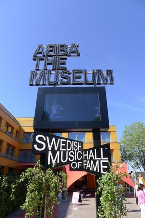 ABBA The Museum: The entrance to the museum
