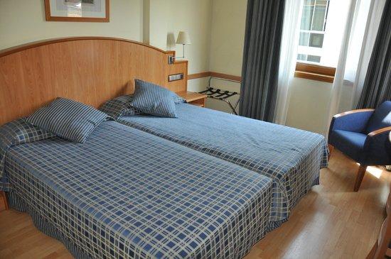 Hotel II Castillas: Удобные кровати