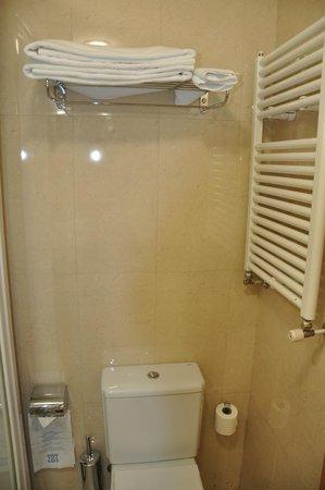 Hotel II Castillas: Ванная комната