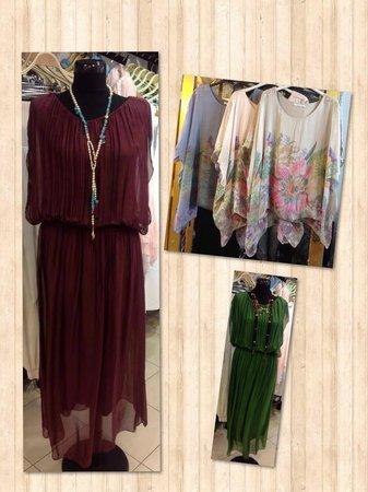 Downtown Fethiye: Silk Dress