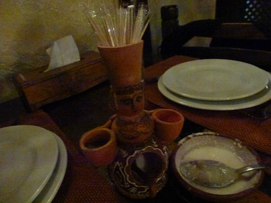Caucasus Tavern: Toothpicks