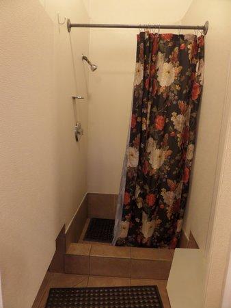 KOA Campground Crescent City: Clean shower