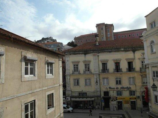 Rossio Garden Hotel: panorama dal balconcino