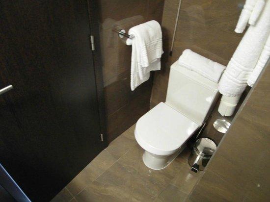 Rossio Garden Hotel: gabinetto posizionato in angolo stretto