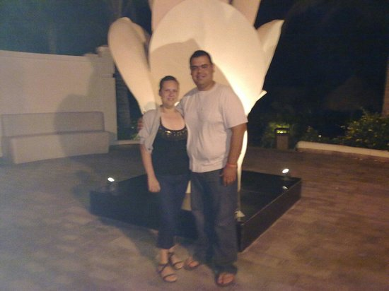 Hotel Riu Emerald Bay: Paseando