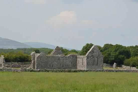 Kilmacduagh Tower: O'Heynes Church, Kilmacduagh