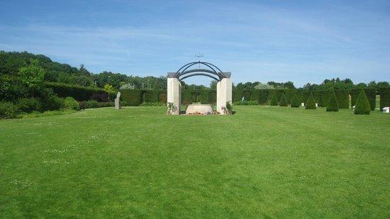 Mémorial de Caen : su jardin