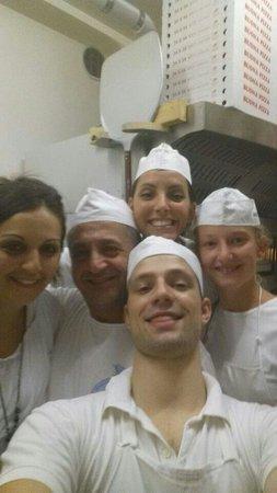 Pizzeria La Rotonda : Super squadra! ������������