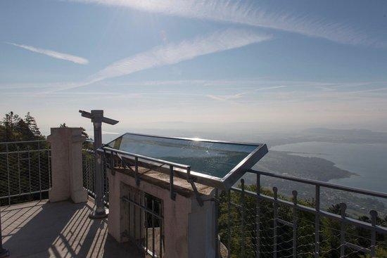 Petit Hotel de Chaumont : Aussicht vom Aussichtsturm