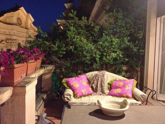 Grand Hotel Plaza: Terrace