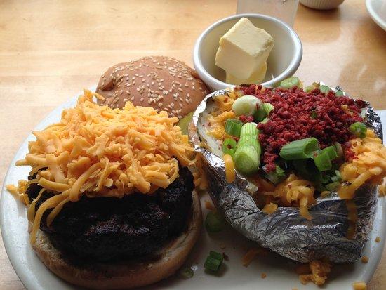 Port of Call : great burger
