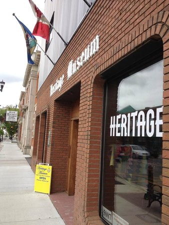Wetaskiwin and District Heritage Museum: Front of museum