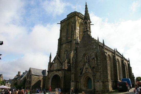 Centre Historique de Locronan : Eglise St Ronan